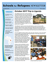 The cover of the 2017 Newsletter